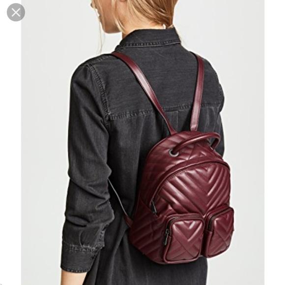 Sam Edelman Handbags - Sam Edelman Keely Backpack Wine color